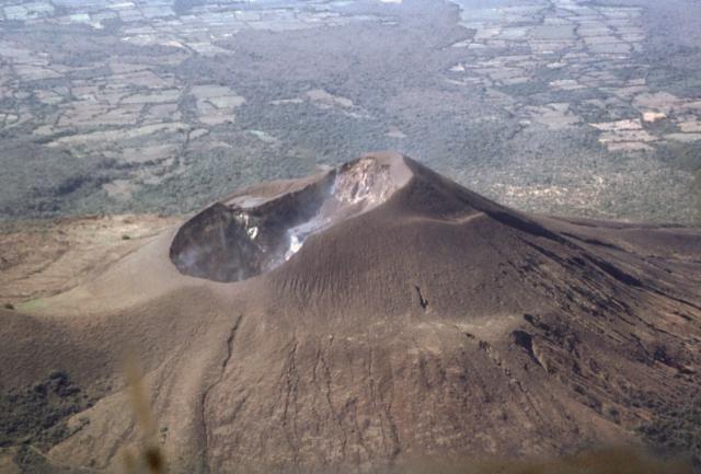 Nicaragua's Telica volcano explodes ash, gas