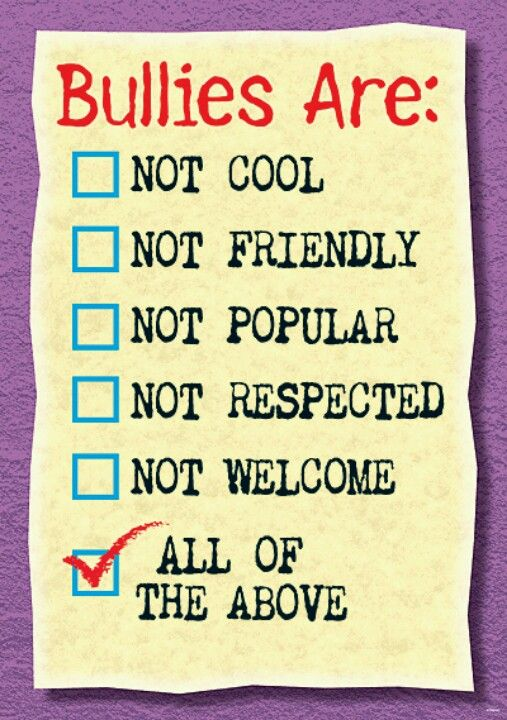71 best images about Bullying poster ideas on Pinterest ...