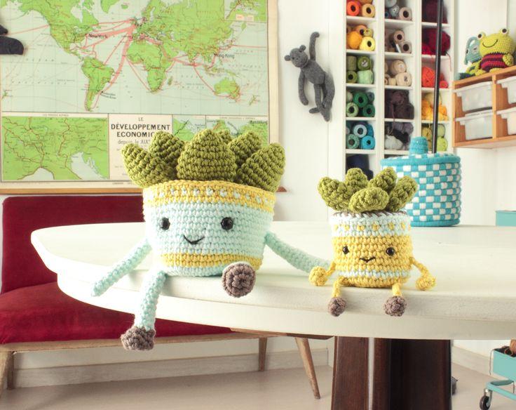 Amigurumi Cactus Tejido A Crochet Regalo Original : Best amig images crochet patterns crocheting