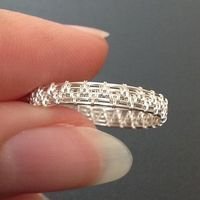 Crazy Simple Ring | JewelryLessons.com--REALLY LIKE-CAN DO THIS W/O SOLDERING.