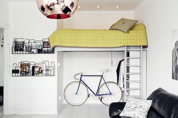 minimalist apartment in stockholm
