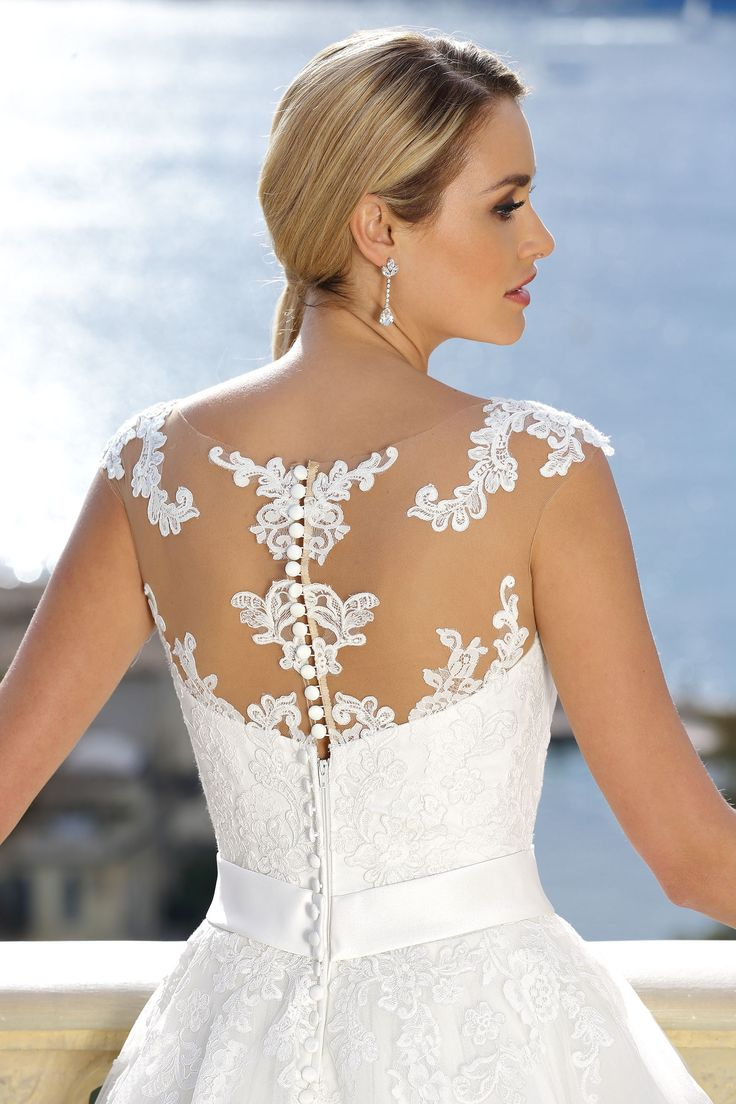 22 besten Lace back Wedding Dresses Bilder auf Pinterest ...