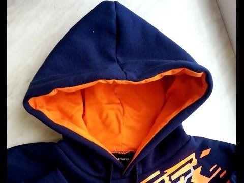 DIY Sweatshirt kangaroo hood part 3/4 sewing course bluza kangurka kaptu...