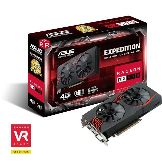 Asus Radeon Ex Rx570 4g Carte Graphique Carte Graphique Pc