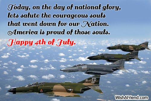 American Indepedence Day Wishes