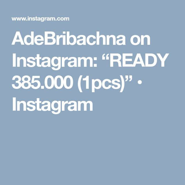 "AdeBribachna on Instagram: ""READY 385.000 (1pcs)"" • Instagram"