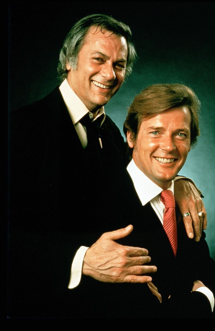 'The Persuaders!' - Tony Curtis and Roger Moore.