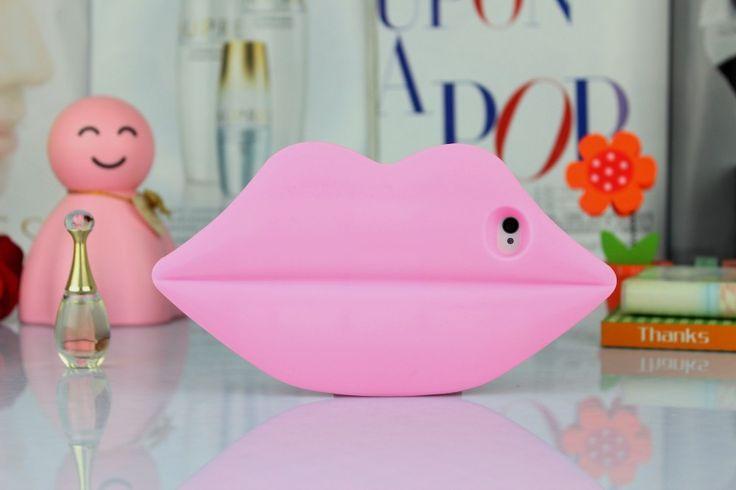 Funda para celular labios