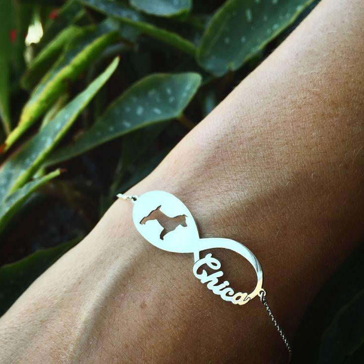 İnfinity bullterrier bracelet 💯hudoca®