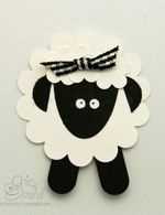"""lamb   Search Results   Chic n Scratch PUNCHES: trio flower, word window, lg oval, scallop circle, 1/2""""circle, 1/8 circle"""