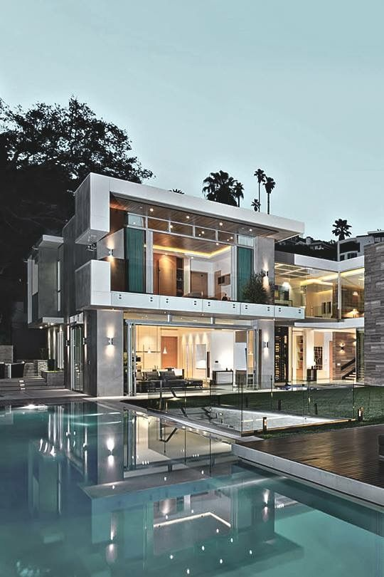 luxury houses modern houses dream life modern architecture house