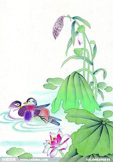 Китайская птица - Культура и искусство - дизайн - бесплатно скачать материал - Творцы Галерея (296814) 11