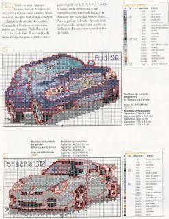 GRAFICOS PUNTO DE CRUZ GRATIS : COCHES Y MOTOS(44)