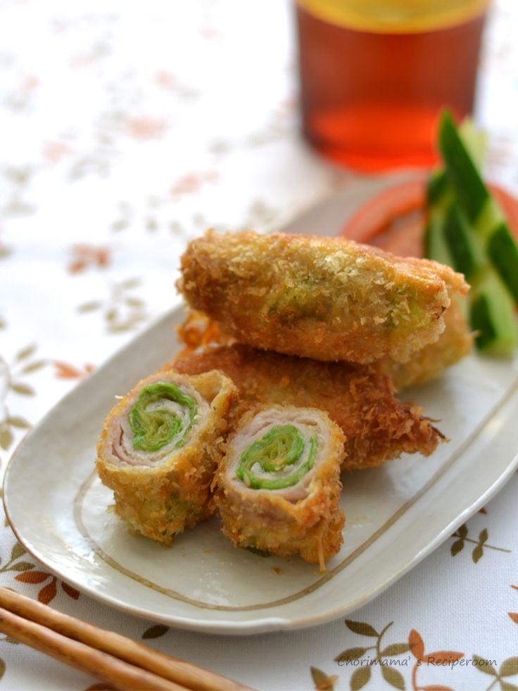 レタスの豚巻きフライ by 西山京子/ちょりママ | レシピサイト「Nadia | ナディア」プロの料理を無料で検索