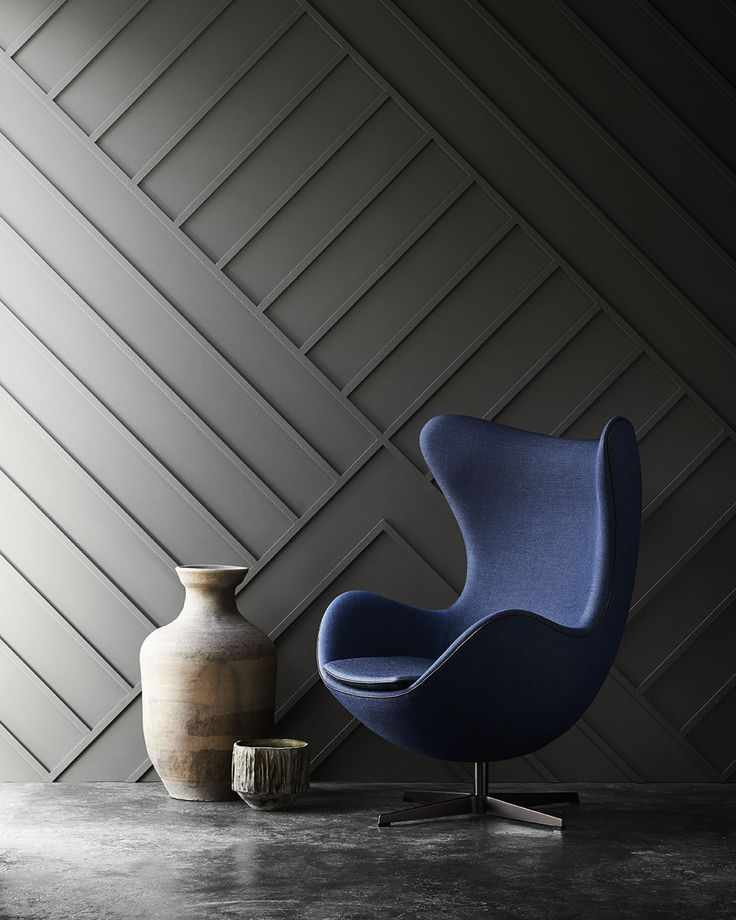 Egg chair designed by Arne Jacobsen. Launched by Republic of Fritz Hansen.  fritzhansen.com