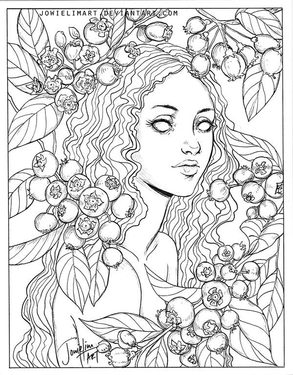 Fruit Series: Blueberry by JowieLimArt.deviantart.com on @DeviantArt