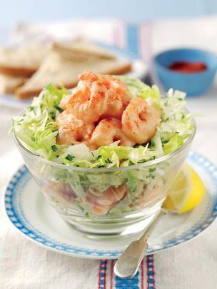 Classic Prawn Cocktail Salad   Salad Recipes   Salad Days: make more of salad