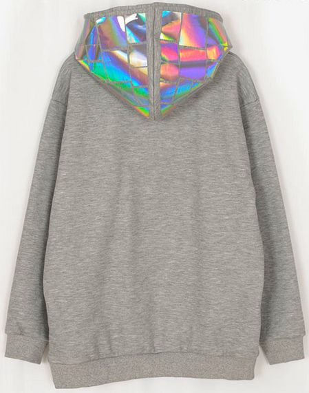 I love that holographic things are in style. I am going to buy it ALL up