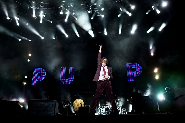 PHOTO BY DAMON WINTER FOR NYT The #Coachella Valley Music and Arts Festival returned to the California desert on Friday, kicking off a double weekend of music in the sun. Left: Pulp, from Sheffield, England.The band played straight and strong, yet the music seemed from much longer ago — clear, brassy, theatrical pop, delivered by a first-class unreliable narrator.