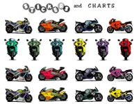 Free printable motorcycle stickers, motor cross printables, and motorcycle printables