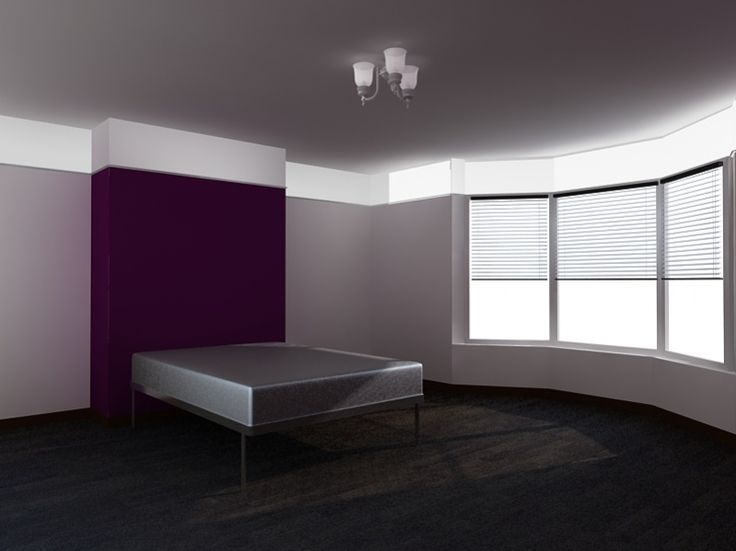 Best Master Bedroom Grey Walls With Purple Accent Wall Master 640 x 480