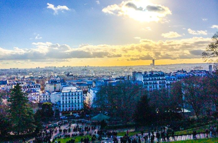 View from Mont Matre, Paris