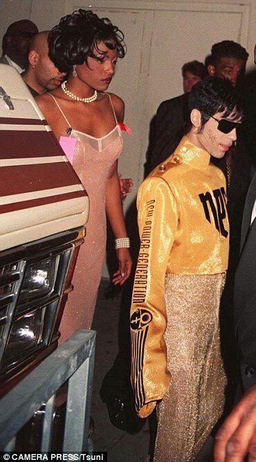 Prince and Nona Gaye AMA 1995