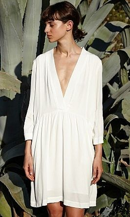 White Lola Dress - Plümo Ltd