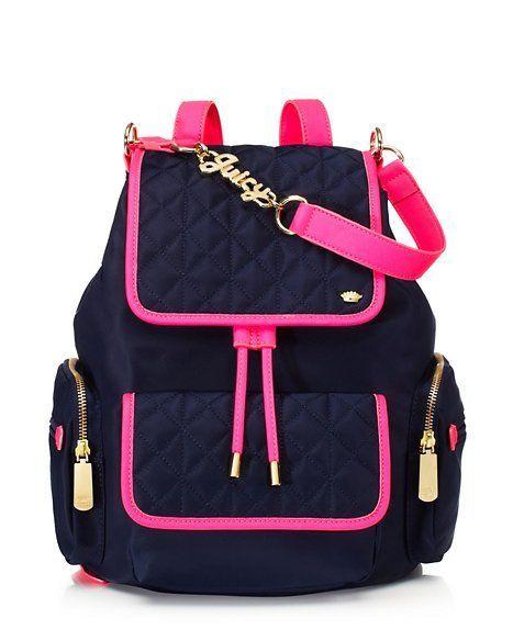 43561b87cb Larchmont Nylon Mini Backpack - Handbags Small Goods - Juicy Couture ...