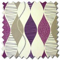 Alderley Damson Lilac Pink Curtains