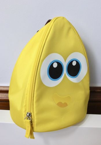 BNWT-Thermos-yellow-happy-banana-insulated-sandwich-lunch-bag-back-to-school