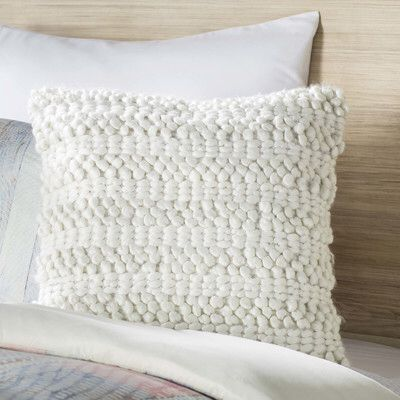 Colmars Woven Stripe Throw Pillow