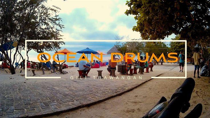 Indonesia. Gili Trawangan. Sunset drumming