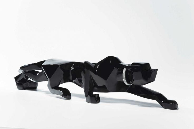 """Статуэтка """"Черная кошка"""" (Black Cat), 185 см Артикул32262 ЦветаЧерный МатериалыИскусственная кожа, Стекловолокно Размер1 855x380x380"""