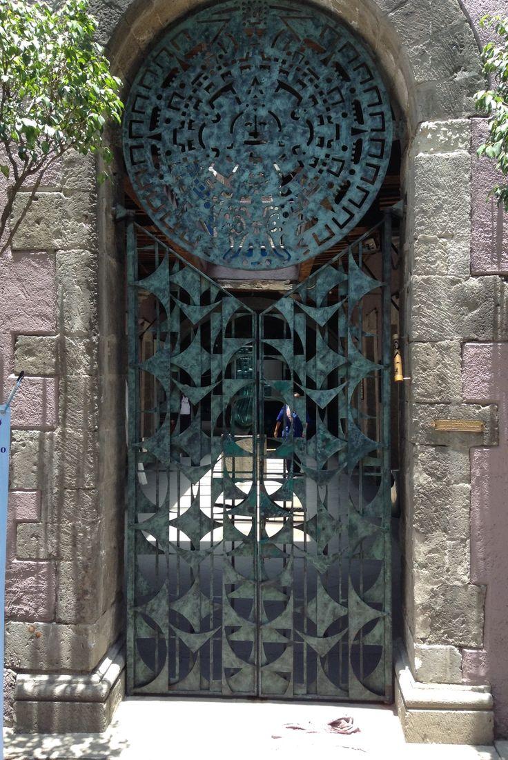 Puerta  #129 Centro Histórico de la Ciudad de México