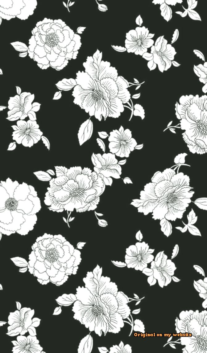 Trends Wallpaper Tumblr Wallpaper Iphone Flower Blackandwhite