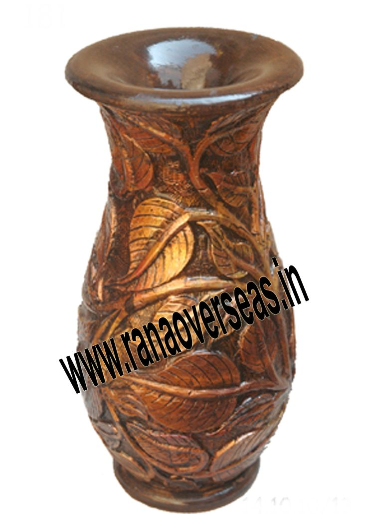 Wooden Flower Vase Various Sizes Are Available In These Wooden Flower Vases. Hand Work Is Also Done On Wooden Flower Pots, Wooden Vases.Our Wooden flower vases are serve as a memorable gifts for near and dear ones. They are ideally placed on writing tables, coffee tables, dining tables, center tables, Room corners, corner racks, corner tables, showcases etc. and impart a touch of style to the decor.