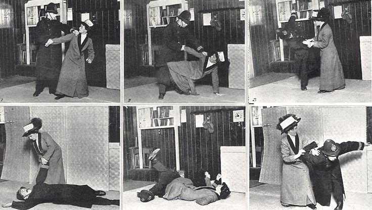 martial arts expert Edith Margaret Garrud