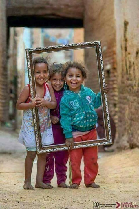 a picture paints a thousand words....but the smiles on these little children paints millions!....