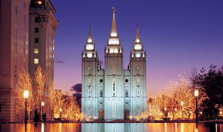 The beautiful Salt Lake Temple