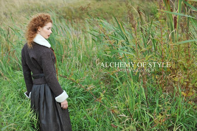 jacket from the collection ALCHEMY OF STYLE by Natalya Tarasevich