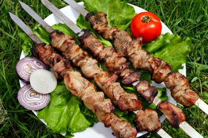 Russian BBQ, Shashlik!