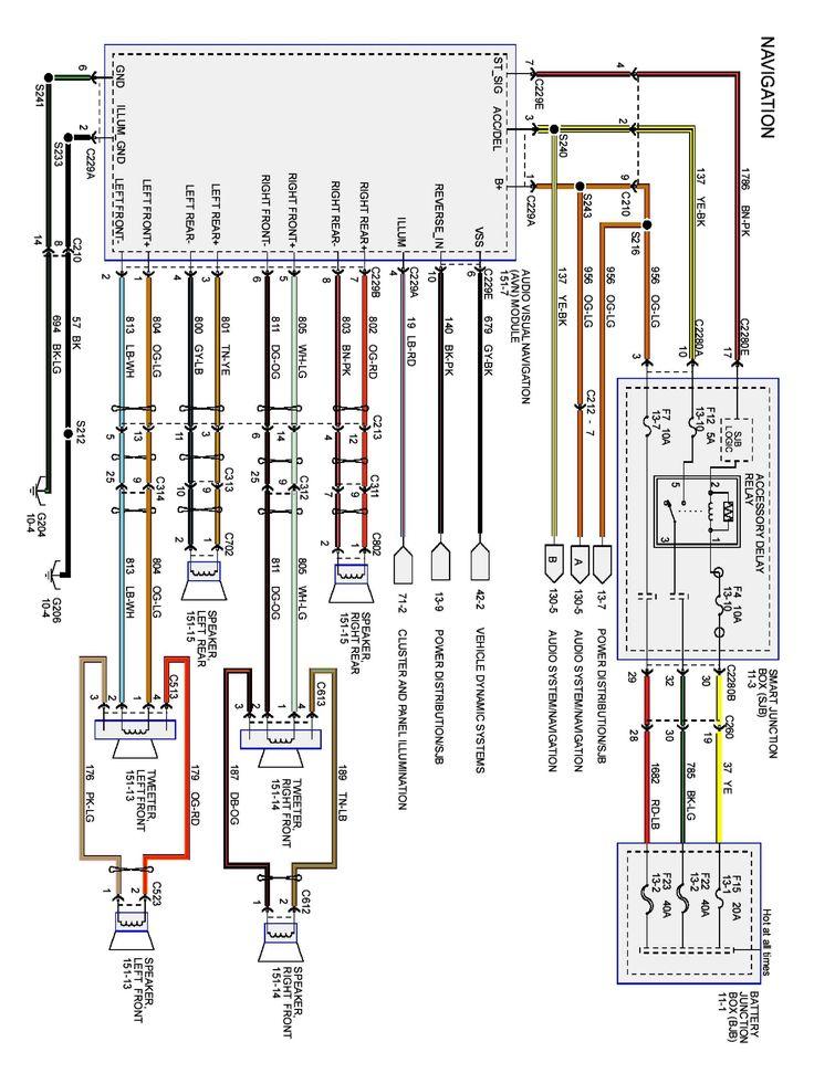 2006 Ford Fusion Engine Diagram In 2021, 2006 Ford F150 Radio Wiring Diagram