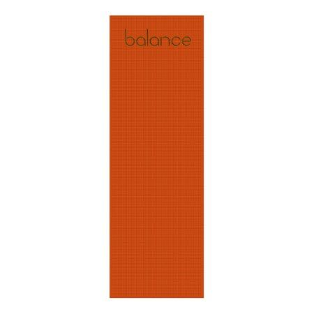 Balance Yoga Mat Orange/Green - click to get yours right now!