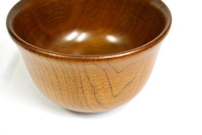 wooden bowl 汁椀・お椀 木製 <羽反(A)046