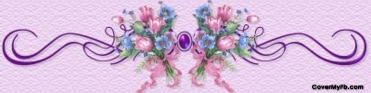 Blue & Pink Flowers Facebook Covers, Blue & Pink Flowers FB Covers, Blue & Pink Flowers Facebook Timeline Covers, Blue & Pink Flowers Facebook Cover Images
