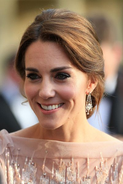 Kate Middleton Photos - Catherine, Duchess of Cambridge attends a gala dinner in support of East Anglia's Children's Hospices' nook appeal at Houghton Hall on June 22, 2016 in King's Lynn, England. - The Duke And Duchess Of Cambridge Attend Gala Dinner To Support East Anglia's Children's Hospices' Nook Appeal