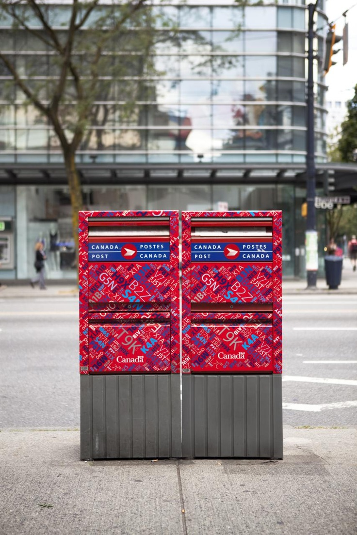 how to get canada post maillbox