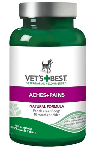 Vets Best Aches and Pains for Adult Dog. This is aspirin for dogs.