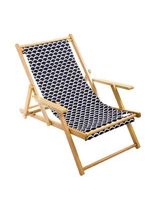 39% OFF Julie Brown Navy/Yellow Reversible Beach Chair